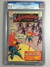Adventure Comics 381 - CGC 7.5 - 1st Supergirl Solo Book