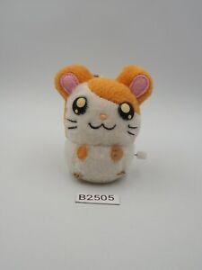 "Hamtaro B2505 Hamster Run Wind up Working Plush 3"" Toy Doll Japan"