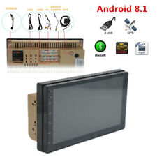 """Android 8.1 7"""" 2 DIN Car GPS Bluetooth Stereo Radio MP5  Support Google online"""