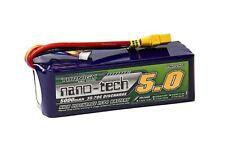 RC Turnigy nano-tech 5000mAh 6S 35~70C Lipo Pack w/XT-90