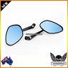 Billet Black 3D CNC Side Mirrors Ducati Monster 696 796 1100 S Diavel 2011 2013