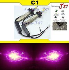 LED Kit C1 60W PS24W H16 12086 30000K Pink Fog Light Bulb Replacement Lamp JDM