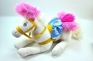 "Disney Store Cinderella Pony Horse 18"" Plush Retired FREE SHIPPING"