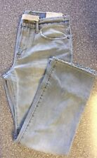 NWT American Eagle Men's Loose Fit Light Wash Jeans 36 x 32 (4155)
