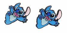 Lilo & Stitch Movie Stitch Character Metal Enamel Stud Earrings