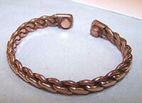PURE COPPER MAGNETIC BRACELET mens womens STYLE#A  jewelry health magnets energy