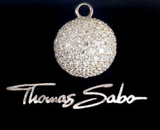 Thomas Sabo Diskokugel Anhänger UVP-398€ Silber, Zirkonia weiß  PE343-051-14
