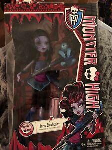 Monster High - Jane Boolittle with Needles her pet Sloth - Mattel -