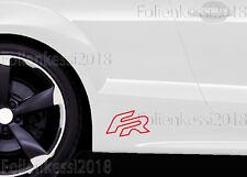 "Seat Leon ""FR""  2 Aufkleber   180 x 107 mm ---30 Farben--- Seat 0008"