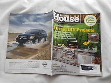 THIS OLD HOUSE Magazine-JULY/AUGUST,2008-4 GREAT DIY PROJECTS-BUILT-IN BARBECUE