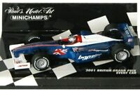 MINICHAMPS AC4 010301 / 400 030301 F1 US/British Event model cars 2001 2003 1:43