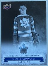 2017 CHARLIE CONACHER UD TORONTO MAPLE LEAFS CENTENNIAL CAPTAINS SP #101