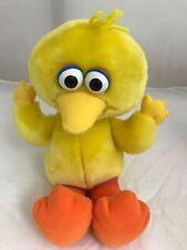 """Vintage Big Bird Sesame Street Giggling Laughing Vibrating 12"""" Plush Tyco 70252"""