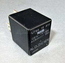 745-Mazda 4-Blade Black Relay LF6618811 NAiS ACB36221-M01 CB1a-TR-12V N.O. DC12V