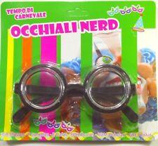 OCCHIALI NERD SECCHIONE FONDO DI BOTTIGLIA nerd glasses