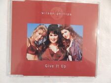"""WILSON PHILLIPS """"Give It Up"""" BRAND NEW UK PROMO CD! NEVER PLAYED!"""