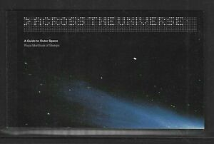 Great Britain Stamps 2002 Booklet Across The Universe Scott #BK172 VF