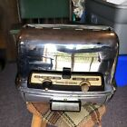 Vintage+GE+General+Electric+Chrome+Toaster%2FWarming+%2ANot+Working%2A