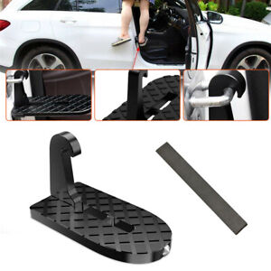 Folding Car Door Latch Hook Step Mini Foot Pedal Ladder Fit For Pickup SUV Roof