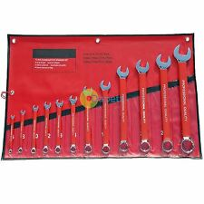 12pc Metric Combination Spanner Wrench Tool Set 6 - 32mm Crv Jumbo Spanners New