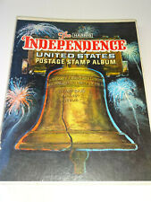 Vintage The Harris Independence United States Postage Stamp Album 249 Stamps USA