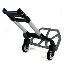 Foldable Aluminium Folding Luggage Cart And Hand Truck Trolley Wheels 176lbs