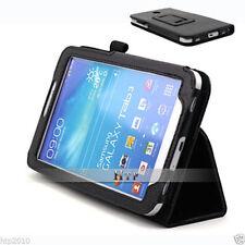 Slim Leather Flip Case Cover Samsung Galaxy Tab 3 7.0 T210 T211 P3200 P3210 AU
