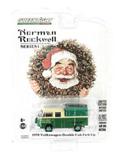 Greenlight 1/64 Norman Rockwell 1978 Volkswagen Double Cab Pickup Wreaths Chase