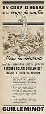 Y8395 Pellicule Panchro-Eclair GUILLEMINOT - Pubblicità d'epoca - 1937 Old ad