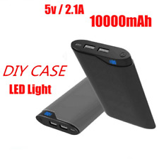 2USB Power Bank External Battery Charger for universal LED charger kit case