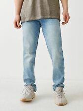 TRUE RELIGION Men's Light Blue Geno No Flap Big T Slim Jeans W40 RRP149 BNWT