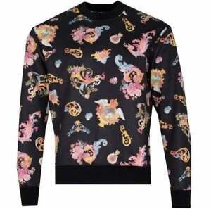 Versace Jeans Couture Print Cameo Sweatshirt Medium