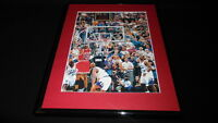 Michael Jordan Last Shot 1998 Framed 11x14 Photo Display Bulls