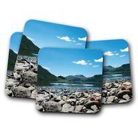 4 Set - Ullswater Lake District Coaster - England Britain Fun UK Dad Gift #15700
