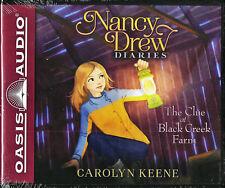 NEW Nancy Drew Diaries The Clue at Black Creek Farm Carolyn Kenne Audio Book 9