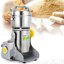More details for 500g electric herb grain mill powder grinder wheat cereal flour machine 1500w uk