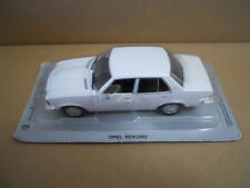 Legendary Cars OPEL REKORD WHITE BIANCO 1:43 Die Cast  [MV35-1]