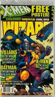 Wizard Magazine August 1997: X-Men Poster, Batman, Villains