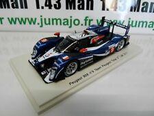 NE1 24 heures du Mans VOITURE 1/43 SPARK : PEUGEOT 908 2011 #9 Bourdais Lamy