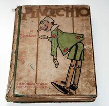 PINOCCHIO - CARLO COLLODI, ILLUSTRAZIONI DI ATTILIO MUSSINO 1° ED. 1911