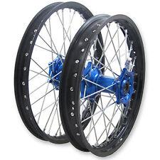 "Xtech Motorbike Wheel Rear 19""x2.15 Suits Yamaha YZ250 99-15 Blue Hub Black Spok"