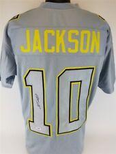 DeSean Jackson Signed Philadelphia Eagles Gray Throwback Jersey (PSA/DNA COA) WR