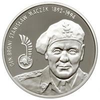 Poland 10 Zlotych 2003 General Stanislaw Maczek WW2 Proof Silver Coin UNC