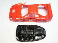 Lexan rally F40 1/32 compatible con Scalextric carroceria no incluida