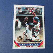 GARY CARTER 1993 Topps # 205 Colorado Rockies GOLD  Montreal Expos New York Mets