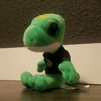 "1 Geico ""Gecko"" Insurance Advertising Quality Plush Stuffed Animal 5/"" NIP"