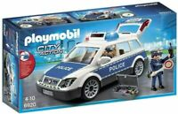 Playmobil City Action 6920 Police Car with Light and Sound Effects Multicolor