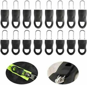 10Pcs Detachable Zipper Puller Set Wide Waistbands Elastic Waist  Universal New.