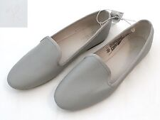 d2f777c2fab NEW WOMENS OLD NAVY Sz 6 FAUX LEATHER GRAY FLATS BALLET MOCCASIN OXFORDS  SHOES