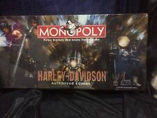 HARLEY-DAVIDSON Authorized Edition MONOPOLY Board Game Factory sealed
